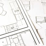 plan de bucatarie cotat 2d design interior